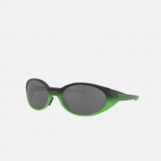 Oakley Eye Jacket Redux Glasses 9438-4A Matte Black Fade Green