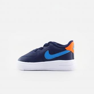 Nike Toddler Force 1 '18 905220-403 Midnight Navy/ Laser Blue/ Hyper Crimson