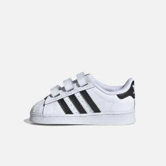 Adidas Originals Infant & Toddler's Superstar EF4842 Cloud White/ Core Black/ Cloud White