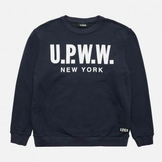 UPWW Crewneck Sweatshirt with Insert CI1-415 Blue