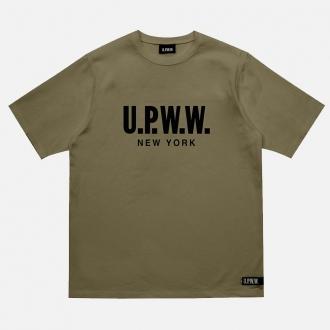 UPWW Back Insert Tee TI2-345 Green