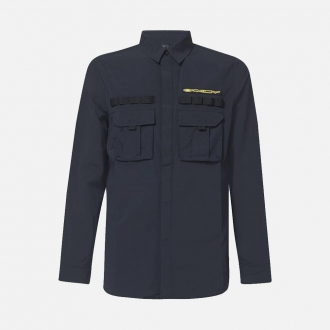 Oakley Definition Patch Long Sleeve Shirt FOA400029-02E Blackout