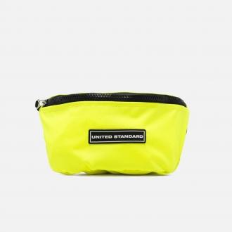 United Standard Logo Fanny Pack US20S-BG03-101 Neon Yellow