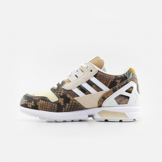 Adidas Originals ZX 8000 Lethal Nights FW2154  Pale Nude/ Chalk White/ Solar Red