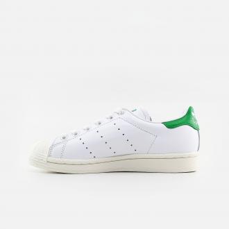 Adidas Originals Superstan FW9328 Cloud White/ Cloud White/ Green