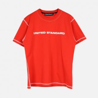 United Standard Logo T-Shirt 20SUSTS01 Red