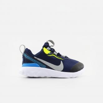 Nike Baby's Renew Element 55 CK4083-400 Midnight Navy/ LT Smoke Grey/ Lemon Venom