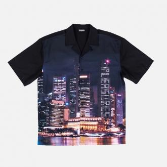 Pleasures Metro Vacation Shirt P20SPCUT0014-Black