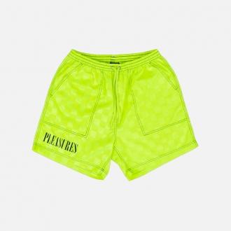 Pleasures BPM Shorts P20SPCUT003-Neon
