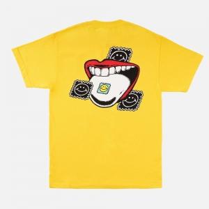 Made In Paradise Taste The Sunshine Tee MIP19MTEE029 Yellow