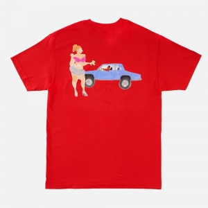 Made In Paradise The Stroll Tee MIP19MTEE037 Red