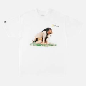 Made In Paradise Lion Style Tee MIP19MTEE039 White