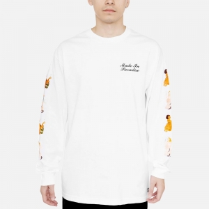 Made In Paradise Unity Long Sleeve Tee MIP19MLSTEE007 White