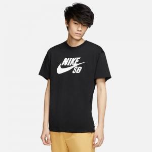 Nike SB Logo Skate T-Shirt CV7539-010 Black/ White