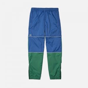 Lacoste LIVE Unisex Colourblock Tracksuit Pants XH1245-E1Z Green/ Blue