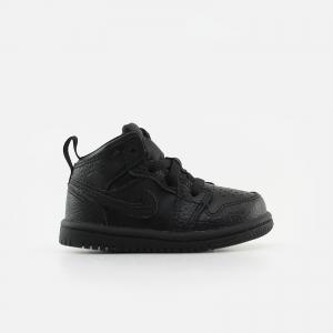 Jordan Toddler Air Jordan 1 Mid 640735-091 Black/ Black/ Black