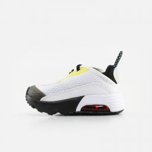 Nike Baby Air Max 2090 CU2092-103 White/ Bleached Aqua/ Black/ Speed Yellow