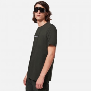 Oakley Definition Short-Sleeve Patch Tee FOA401563-7DG Dark Olive Green