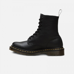 Dr. Martens W 1460 Pascal Virginia Leather Ankle Boots 13512006 Black