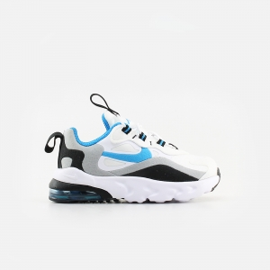 Nike Baby Air Max 270 RT CD2654-106 White/ Laser Blue/ Wolf Grey/ Black