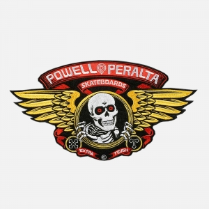 Powell Peralta Winged Ripper Large Patch 9PPPA003 Black