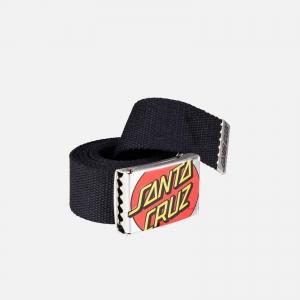 Santa Cruz Crop Dot Belt 3SF19231 Black