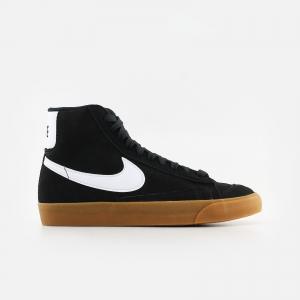 Nike W Blazer Mid '77 DB5461-001 Black/ White/ Gum Med Borwn/ Total Orange