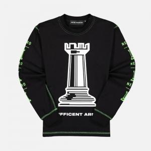 United Standard ArmourLong Sleeve T-Shirt 20WUSLS19 Black