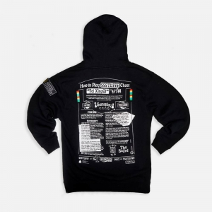 Flying Chess Hoodie H21122-BLK