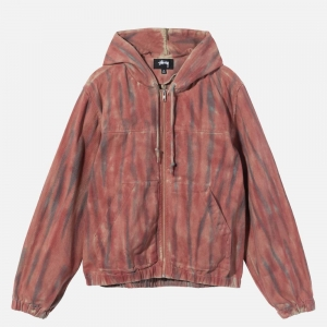 Dyed Work Jacket 115565-RUST