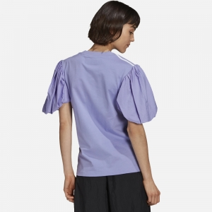 X Dry Clean Only Bangkok Puff Sleeve Tee H59037