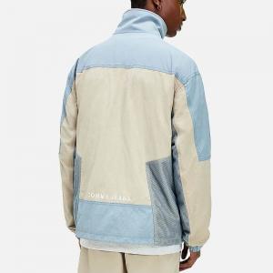 Mix Media Colorblock Jacket DM0DM10588ABM