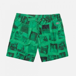 X Polaroid Print Swimming Trunks MH3881-6KP