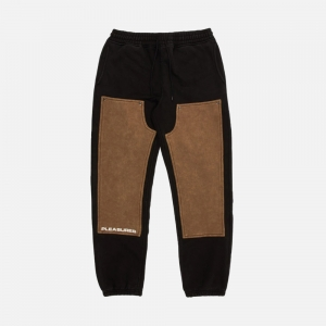 Burnout Dyed Sweatpant P20W022-BLACK