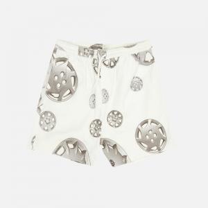 Roadside Twill Shorts P21SP014-WHITE