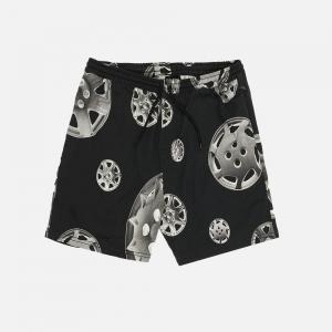 Roadside Twill Shorts P21SP014-BLACK