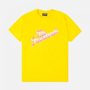 Beyond Slant T-Shirt P1010401-Ylw