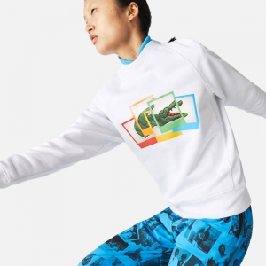 X Polaroid Loose Fit Crew Neck Sweatshirt SH2183-001