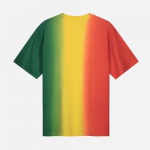 Rebo Tee 2113014-red/yellow/green