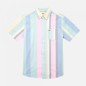 Stripe 2 SS Shirt DM0DM11519TOJ