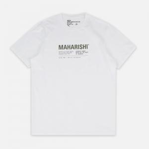 Maha Miltype21 T-shirt 9316-White