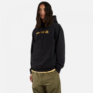 Gold Tailor Hooded Sweat 9398-Black