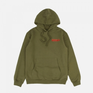 Fine Tailor Hooded Sweat 9400-Olive