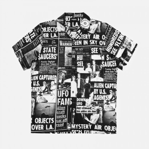 Wasted Paris Roswell Shirt FW21SR-BLWHT