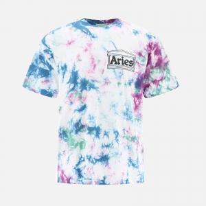 Aries Temple Tie Dye T-Shirt FSAR60300-MULT