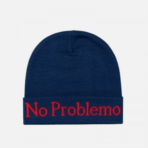 Aries No Problemo Beanie FSAR91000-NAVY