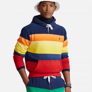 Polo Ralph Lauren Striped Fleece Hoodie 710842858001