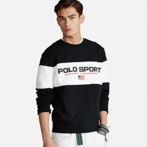 Polo Ralph Lauren Color Block Logo Crewneck 710836763003