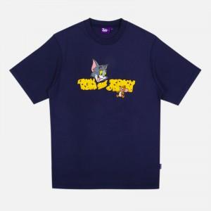Tealer X Tom & Jerry Cheese T-Shirt ART0014-NVY