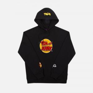 Tealer X Tom & Jerry Chenille Hoodie ART0018-BLK
